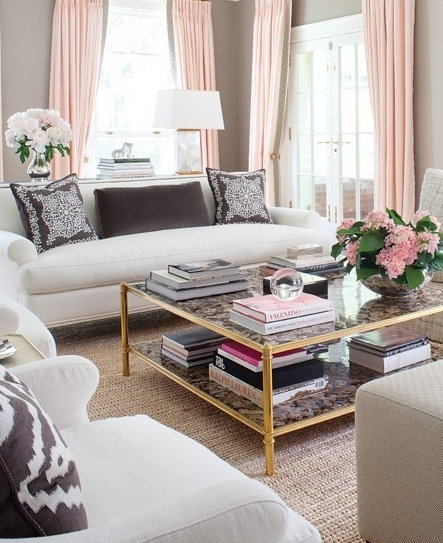 styling your coffee table to help sell your house - home staging